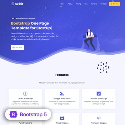 Bootstrap 5 Template